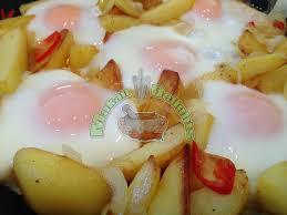 membuat nasi goreng cur telur makan delights telur masak mata lembu dengan kentang