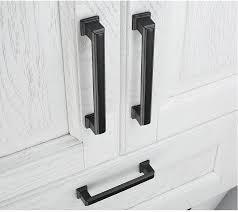 kitchen cupboard handles in black kitchen cabinet handles hton style matt black