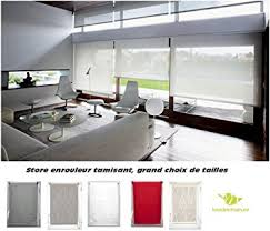 hauteur fenetre cuisine store enrouleur tamisant fenêtre porte fenêtre baie vitrée