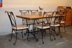 Wrought Iron Kitchen Table Wrought Iron Kitchen Table And Chairs Photo U2013 1 U2013 Kitchen Ideas