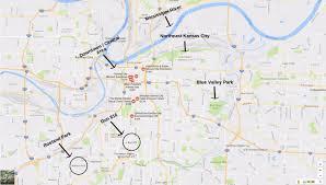 Kansas City Map Great Runs In Kansas City U2013 Great Runs U2013 Medium