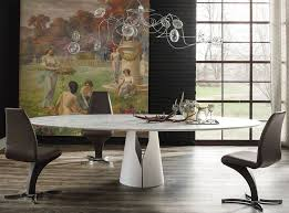 Modern Dining Chairs Leather Modern Dining Room With Chandelier By Umodstyle Furniture Zillow