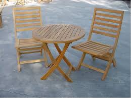 Folding Bistro Table And Chairs Set Trendy Teak Bistro Table And Chairs 3 Piece High Set Home Design