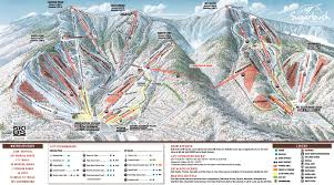New England Area Map by 2015 16 Sugarbush Trail Map New England Ski Map Database