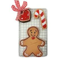 gingerbread on tray family ornament express
