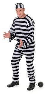 convict halloween costumes prisoner convict jumpsuit striped orange fancy dress costume