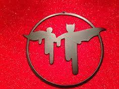 cnc metal batman ornament 6 dia check us out on