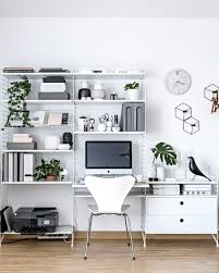 Scandinavian Home by Home Office Scandinavian Workspace Www My Full House Com