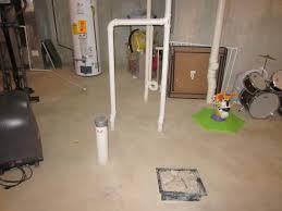 installing a bathroom in a basement