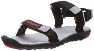sparx men u0027s black nylon sandals and floaters buy online at low