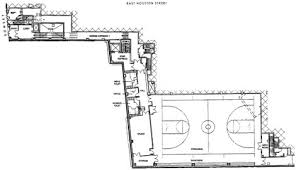 basketball gym floor plans gym and pool for east side community center