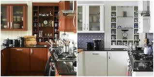 renovation cuisine bois avant apres relooking cuisine bois gallery of relooking cuisines avec relooker