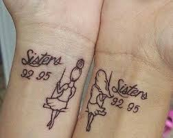 29 best dainty sister tattoos images on pinterest tattoo ideas