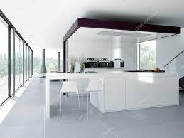 interieur cuisine moderne intérieur de cuisine moderne concept de design rendu 3d