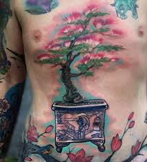 60 bonsai tree tattoo designs for men zen ink ideas