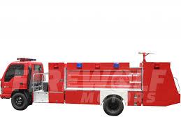 isuzu nqr 4000 liters p t o fire truck firewolf motors
