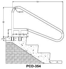 Swimming Pool Handrails Swimming Pool Handrail Dimensions Perplexcitysentinel Com