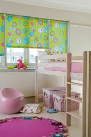 raffrollo design blumenmuster raffrollo kinderzimmer curtains
