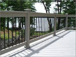 Outdoor Banisters And Railings Best 25 Deck Railing Systems Ideas On Pinterest Cable Deck