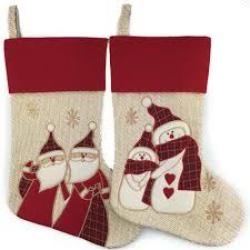 navidad sale christmas gift new 2016 christmas stocking beige