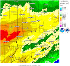 Rainfall Totals Map Heavy Rain Of Late December 2015