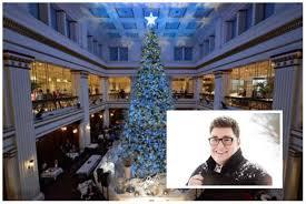 chicago tree lighting 2017 macy s walnut room tree lighting will be next month with jordan