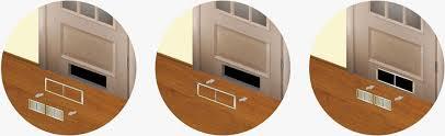 bouche aeration cuisine grille de ventilation en plastique rectangulaire pour cuisine