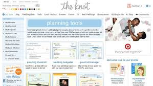 wedding planner tools the knot helps you plan everything related to your wedding