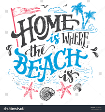 beach signs home decor home where beach is beach house stock vector 414306544 shutterstock