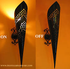 Moroccan Sconce Moroccan Moroccan Torch Sconce Id 225 For The Home Pinterest