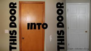 how to upscale a cheap door for under 20 youtube