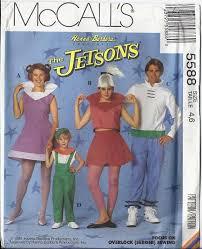 Judy Jetson Halloween Costume Jetsons Costumes Pattern George Jane Judy Elroy