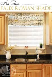 Kitchen Window Treatments Roman Shades - natural fiber cordless roman shade pottery barn for the home
