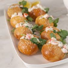 lemon prawn sliders recipe