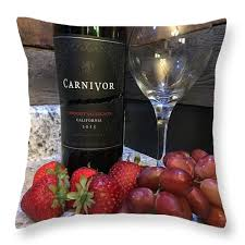 wine ls for sale wine throw pillow for sale by kaira lansing