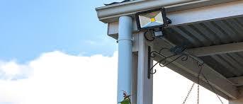 diy solar flood light motion sensing flood light builders