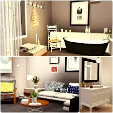 urban living by simberry bathroom livingroom sims 3