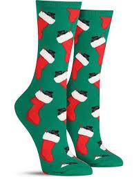 christmas coal socks for women