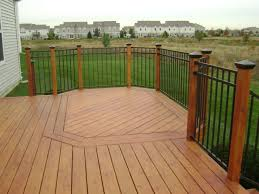 decking materials natural wood composite materials railings