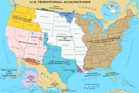 Map Of Southern Usa by Map Of How United States Expanded From The Original 13 Colonies