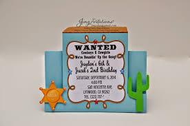 birthday and baby shower invitations woody