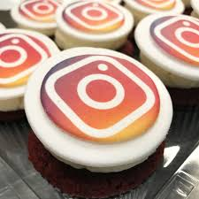 custom cupcakes instagram icon logo custom cupcakes city cakes