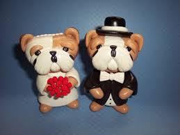 bulldog cake topper you re a bulldog through and through show the entire wedding your