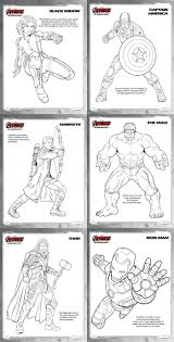 avengers age of ultron review and free printables