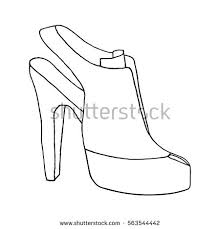shoe sketch stock images royalty free images u0026 vectors shutterstock