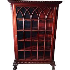 Mahogany Bookshelves by Rare Antique Chippendale Ball U0026 Claw Foot Mahogany China Cabinet
