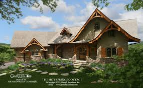 Cabin Style Home Plans Rustic Cottage House Plans Hahnow