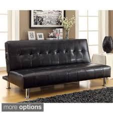 leather futons shop the best deals for oct 2017 overstock com