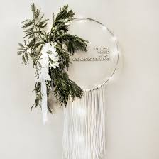 boho macrame wreath craftgawker