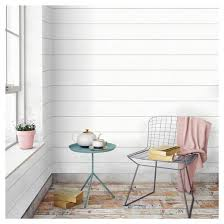 Best Peel And Stick Wallpaper by Devine Color Textured Shiplap Peel U0026 Stick Wallpaper Ultra White